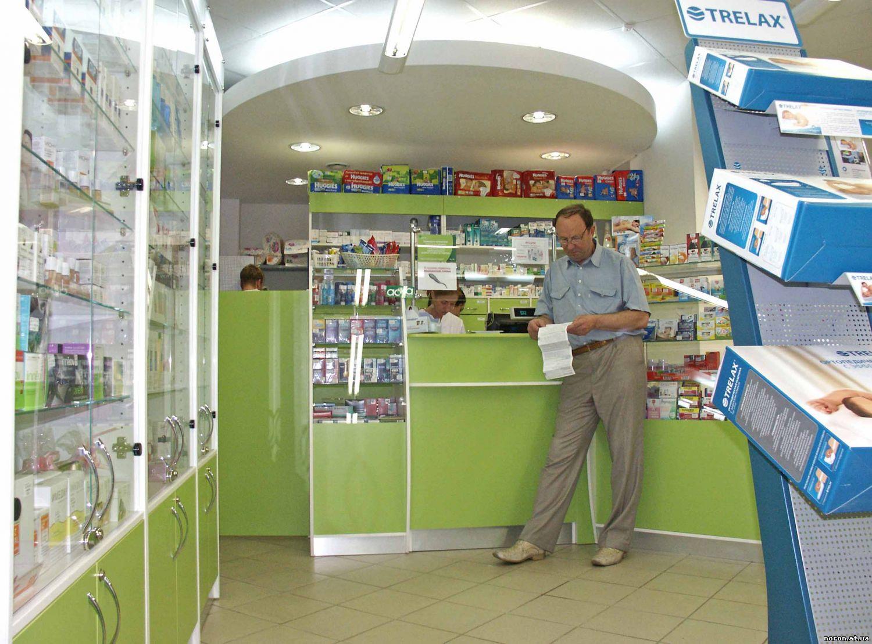 Дизайн входа в аптеку